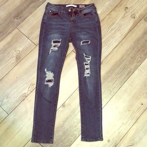 Tiffany skinny ankle jeans